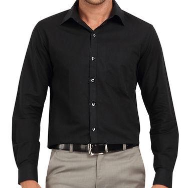 Copperline 100% Cotton Shirt For Men_CPL1214 - Black