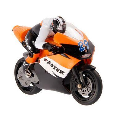 RC 2.4 Ghz Mini Stunt Bike - Orange
