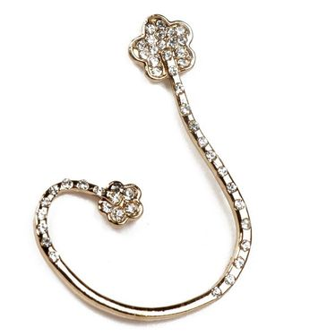 Urthn Austrian Diamond Single Ear Cuff_1302514