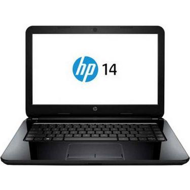 HP 14-r113TU Notebook (1st Gen CDC/ 2GB/ 500GB/ Win8.1) (K8T87PA) - Black