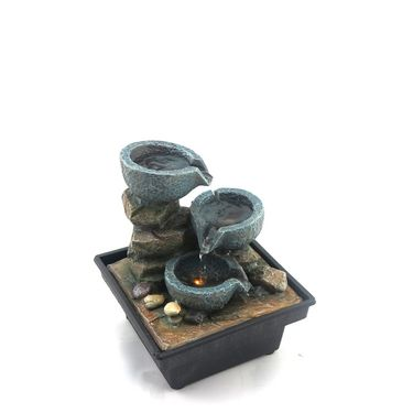 3 pots water fountain-1412-0579
