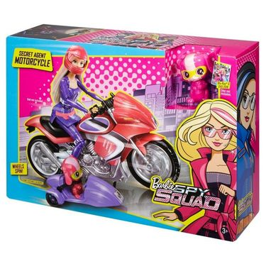 Barbie Spy Squad Secret Agent Motorcycle Multi Color