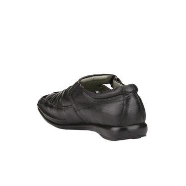 Delize Leather Sandals 3005-Black