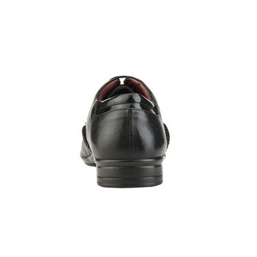 Delize Leather Formal Shoes 3053-Black