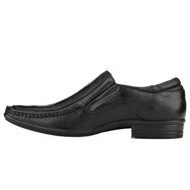 Delize Leather Formal Shoes 3054-Black