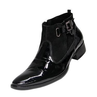 Delize Petaint Leather Formal Shoes 3151-Black