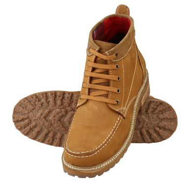 Delize Leather Casual Shoes 3804-Tan