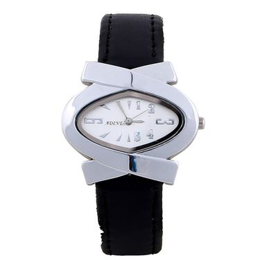 Adine Round Dial Analog Wrist Watch For Women_39bs010 - Silver