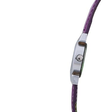 Adine Round Dial Analog Wrist Watch For Women_39pp014 - Purple