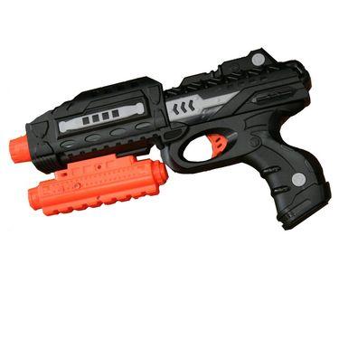 AdraXx Silicon Soft Shots And Fom Darts Shooting Toy Gun Kit - 411422