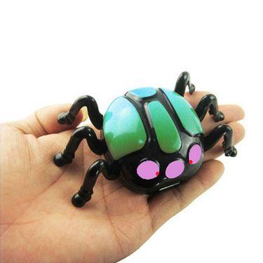 AdraxX RC Mini Wall Climber Beetle Toy - Green