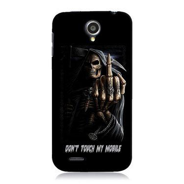 Snooky Digital Print Hard Back Case Cover For Lenovo A830 Td12137