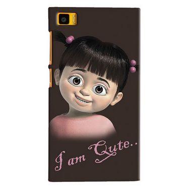 Snooky Digital Print Hard Back Case Cover For Xiaomi Mi3 Td12517