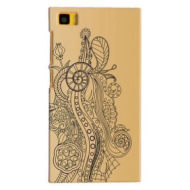 Snooky Digital Print Hard Back Case Cover For Xiaomi Mi3 Td12525