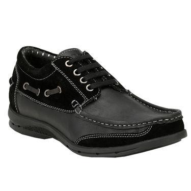 Delize Leather Formal Shoes 6061-Black