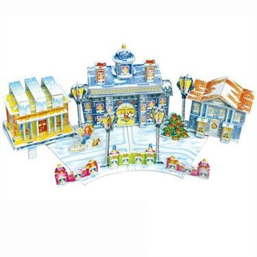 62pcs 3D puzzle The Little Match Girl pz-6