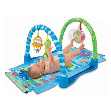 Mattel Fisher Price Ocean Wonders Kick & Crawl Gym