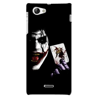 Snooky Digital Print Hard Back Case Cover For Sony Xperia J Td12763