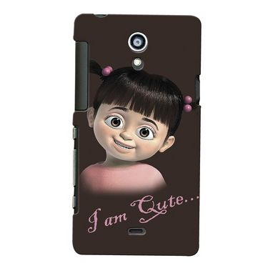 Snooky Digital Print Hard Back Case Cover For Sony Xperia T Lt30p Td12807