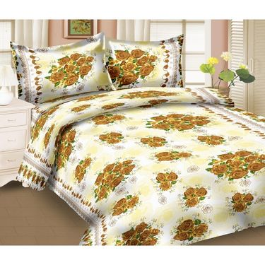 Set of 5 Double Bed sheet with 10 Pillow Covers  -843A906C907B912A45059-1