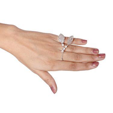 Vendee Fashion Adorable Silver Finger Ring - Silver _ 8612