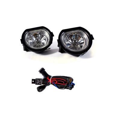 New Mahindra Bolero 2011 Fog Light Lamp Set of 2 Pcs. With Wiring