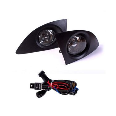 Tata INDICA V2 New Fog Light Lamp Set of 2 Pcs. With Wiring