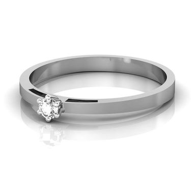 Ag Real Diamond Kashmir Ring_AG0005w