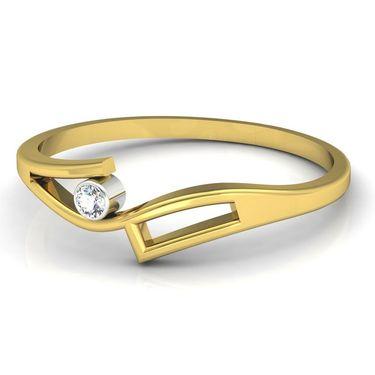 Ag Real Diamond Ranchi Ring_AG0065y
