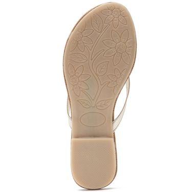 Aleta Synthetic Leather Womens Flats Alwf0416-Silver