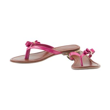 Aleta Synthetic Leather Womens Flats Alwf0516-Pink