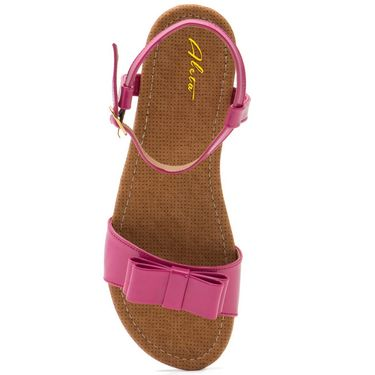 Aleta Synthetic Leather Womens Flats Alwf0616-Pink