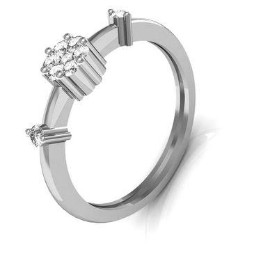 Avsar Real Gold & Swarovski Stone Poonam Ring_A005wb