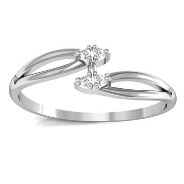 Avsar Real Gold & Swarovski Stone Kashmir Ring_A020wb