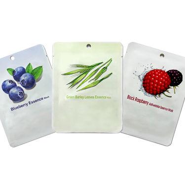 Krishkare Pack of 3 Anti-Ageing, Deep Cleansing & Skin Softening Mask