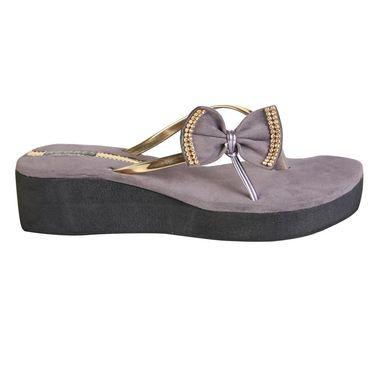 Azores Womens Grey Sandals -Azf_16G