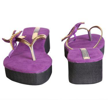 Azores Womens Purple Sandals -Azf_16P
