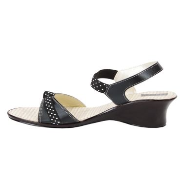 Azores Womens Black Sandals -Azf_Pdb