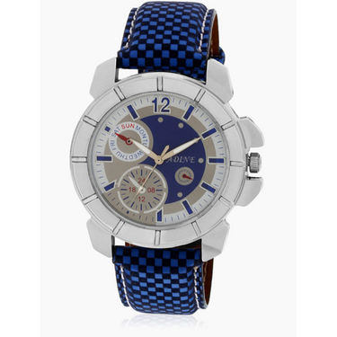 Adine Analog Wrist Watch_AD6014bb - Blue