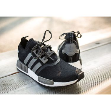 Adidas Mesh Black & Grey Sports Shoes -os02