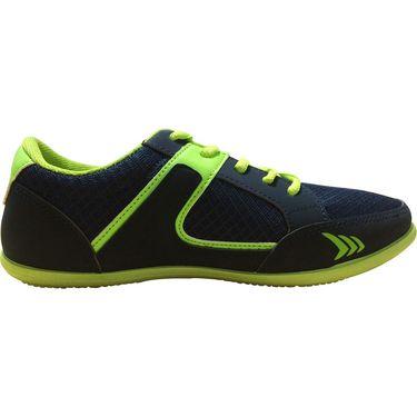 Mayor  Amaze Navy, Lime Green Shoes - 10