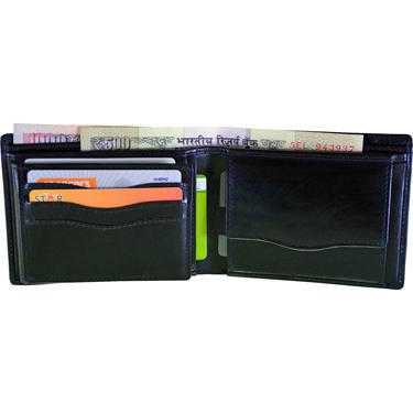 Arpera Leather Wallet for Men - Black_C11431-1
