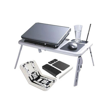 Multi-Purpose Folding Laptop Table + 8 Accessories & Free Optical Mouse