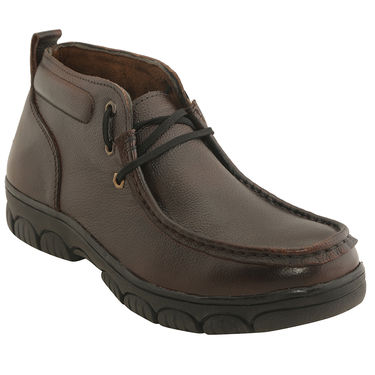 Leather  Brown  Boot -ntb17