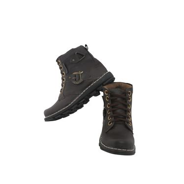 PU  Black  Boot -ntb09