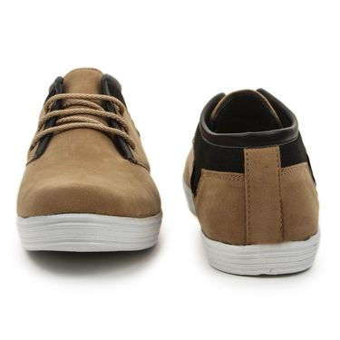 Bacca Bucci Canvas Tan Casual Shoes -Bbmb3030D