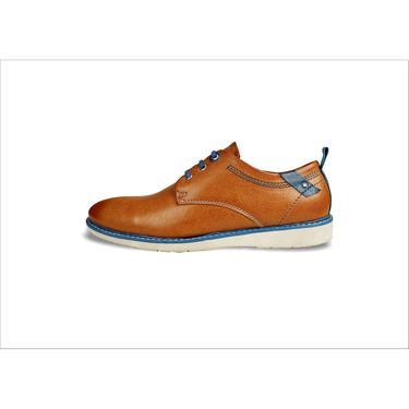 Bacca Bucci Genuine Leather Tan Casual Shoes -Bbmb3058D