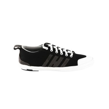 Bacca Bucci Canvas Black Casual Shoes -Bbmb3067A