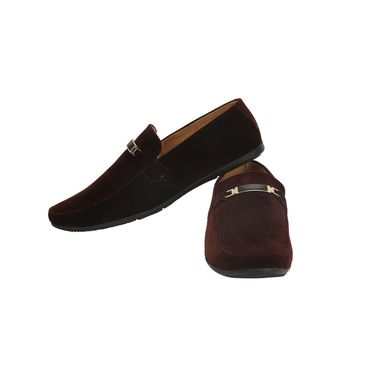 Bacca Bucci Fabric Brown Casual Shoes -Bbmb3114C