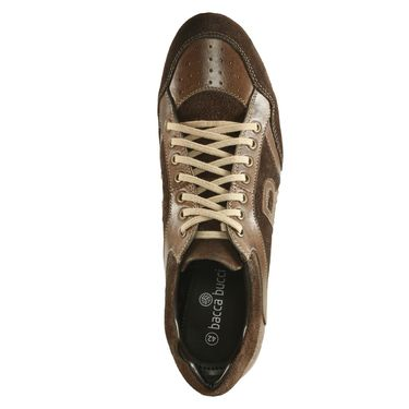 Bacca Bucci Genuine Leather Brown Casual Shoes -Bbmb3141C